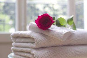 Spălare prosoape și halate fitness
